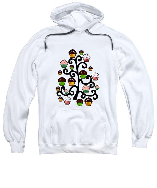 Cupcake Tree Sweatshirt