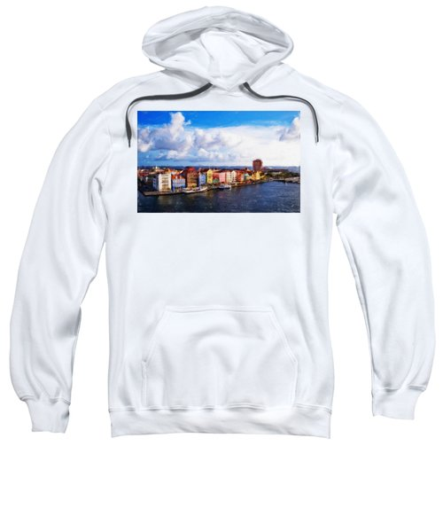 Curacao Oil Sweatshirt
