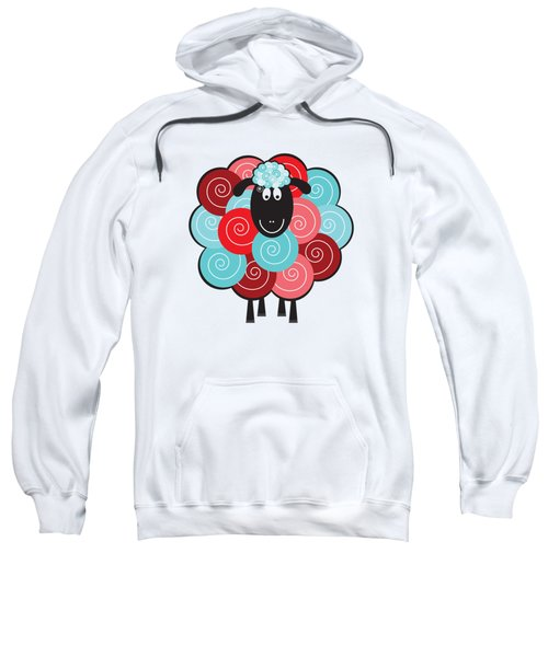 Curly The Sheep Sweatshirt by Natalie Kinnear