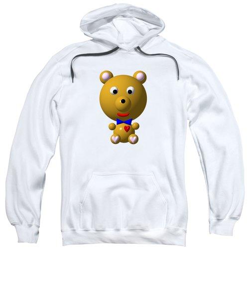 Cute Bear With Bow Tie Sweatshirt