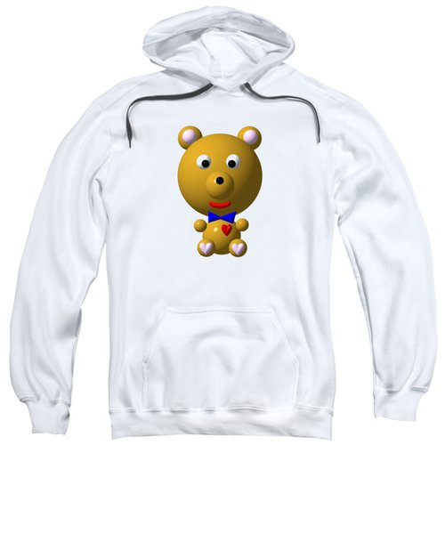 Cute Bear With Bow Tie Sweatshirt