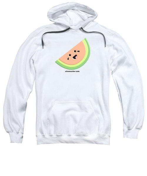 Cute Happy Watermelon  Sweatshirt