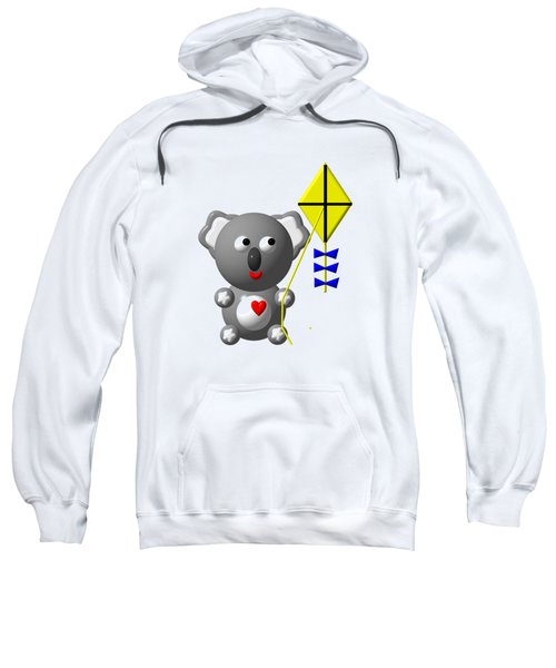 Cute Koala With Kite Sweatshirt