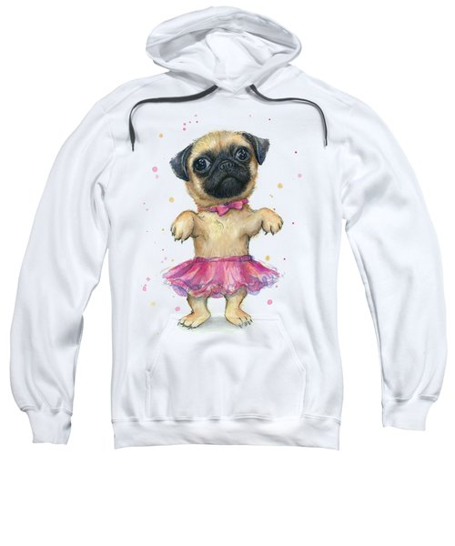 Cute Pug Puppy Sweatshirt