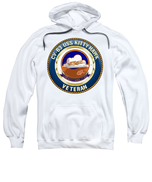 Cv-63 Uss Kitty Hawk  Sweatshirt