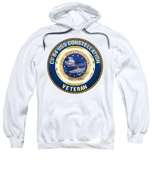 Cv-64 Uss Constellation  Sweatshirt