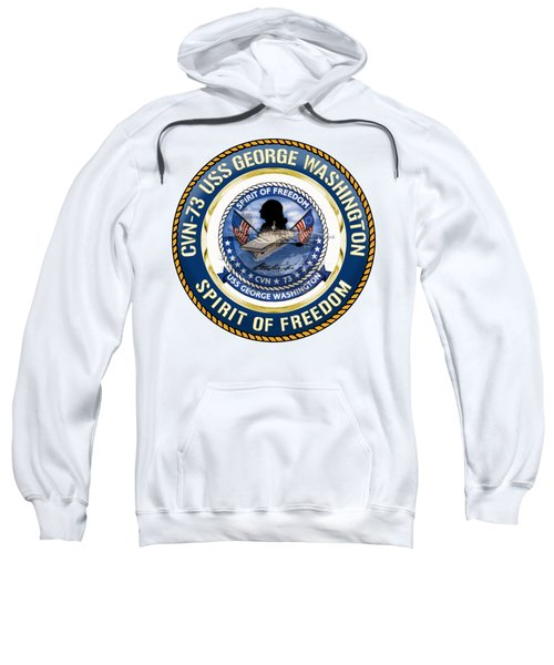 Cvn-73 Uss George Washington Sweatshirt
