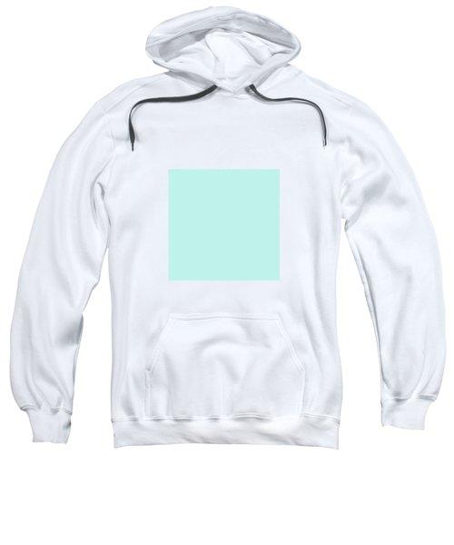 Cyan Ultra Soft Pastels Colour Palette Sweatshirt