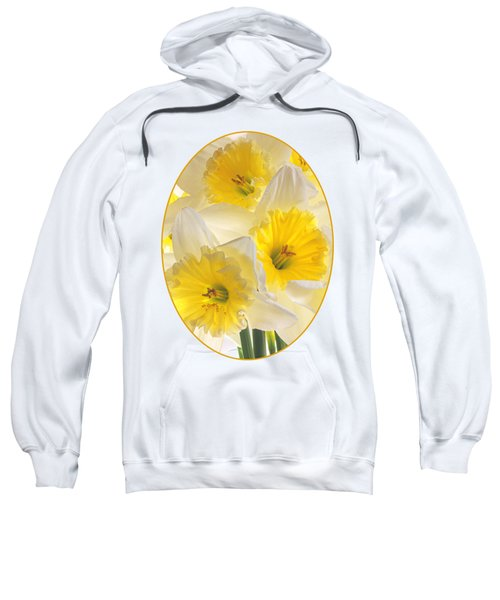 Daffodil Delight Vertical Sweatshirt