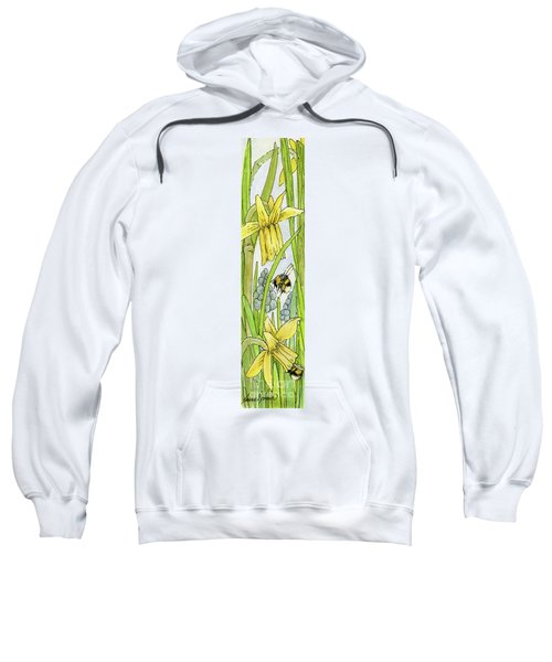 Daffodils And Bees Sweatshirt