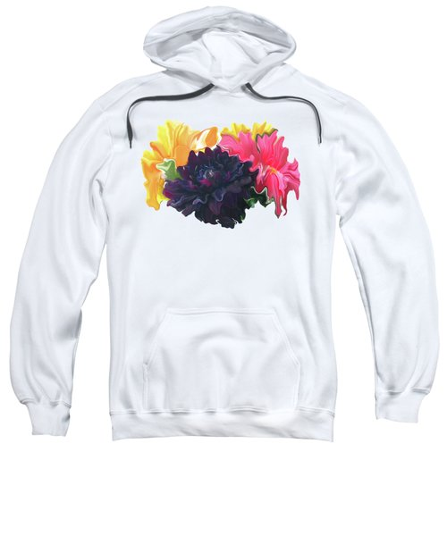 Dahlia Bouquet 2 Sweatshirt