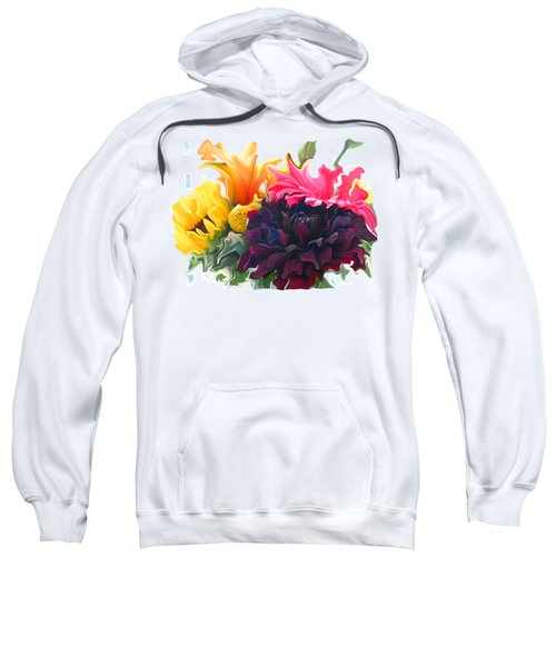 Dahlia Bouquet Sweatshirt