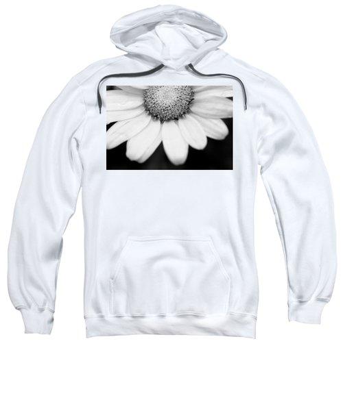Daisy Smile - Black And White Sweatshirt