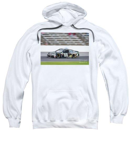 Dale Earnhardt Jr Running Hard At Texas Motor Speedway Sweatshirt