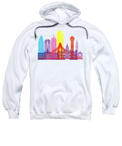 Dallas Skyline Pop Sweatshirt