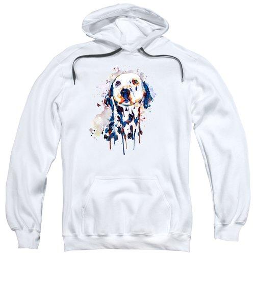 Dalmatian Head Sweatshirt