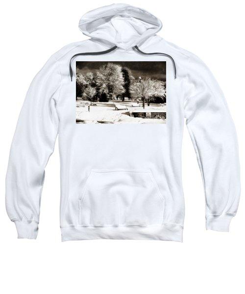 Dark Skies And Winter Park Sweatshirt