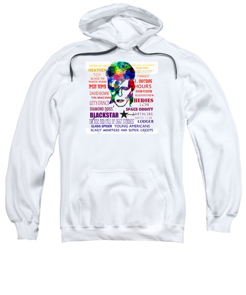 David Bowie Tribute Sweatshirt