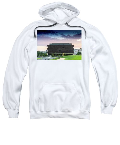 Dawn At The National Museum Of African American History And Culture.  No 1 Sweatshirt