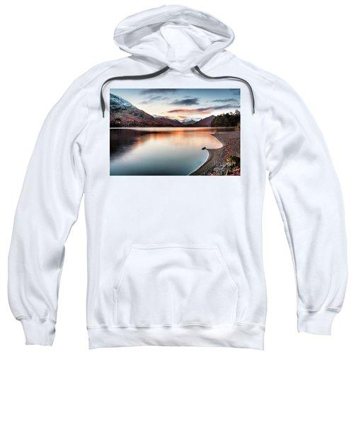 Dawn Light On Ullswater Sweatshirt