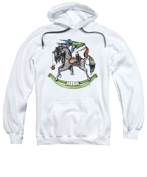 Day At The Races Sweatshirt by Kelly Jade King