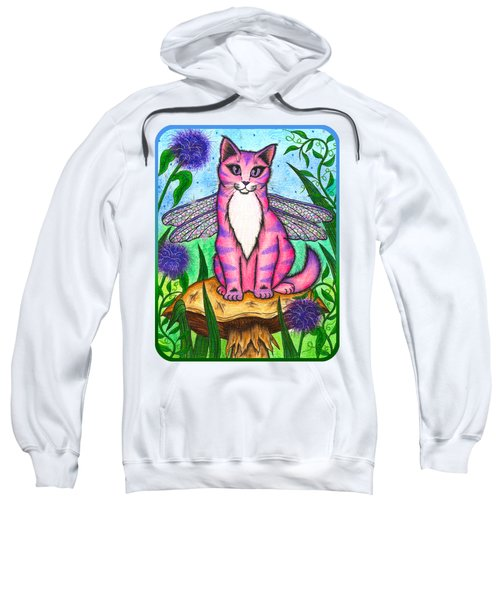 Dea Dragonfly Fairy Cat Sweatshirt