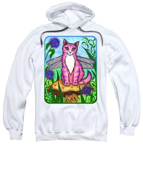 Dea Dragonfly Fairy Cat Sweatshirt