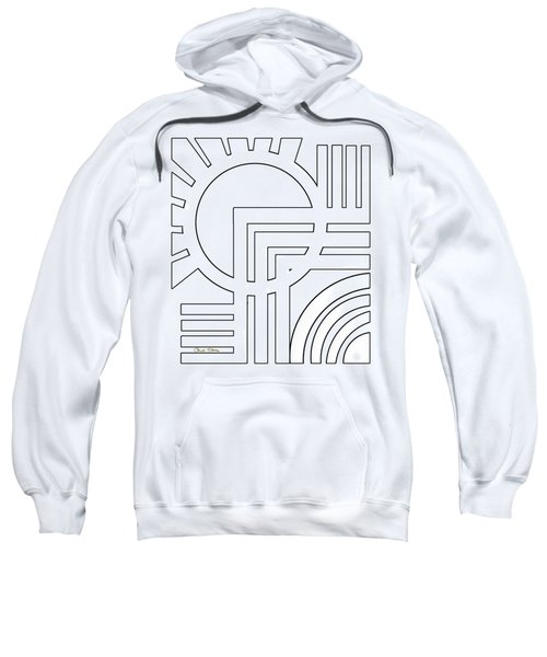 Deco Design White Sweatshirt