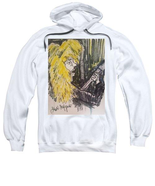 Def Leppard Love Bites Sweatshirt by Geraldine Myszenski
