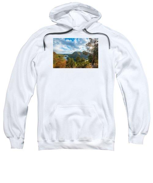 Delaware Water Gap In Autumn Sweatshirt