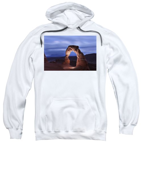 Delicate Arch At Twilight Sweatshirt