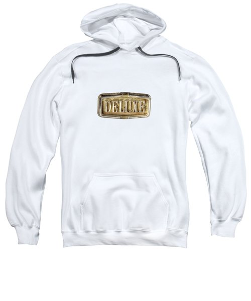 Deluxe Chrome Emblem Sweatshirt