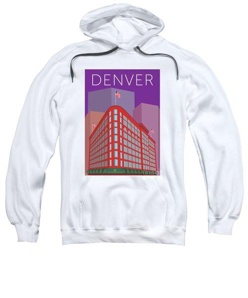 Denver Brown Palace/purple Sweatshirt