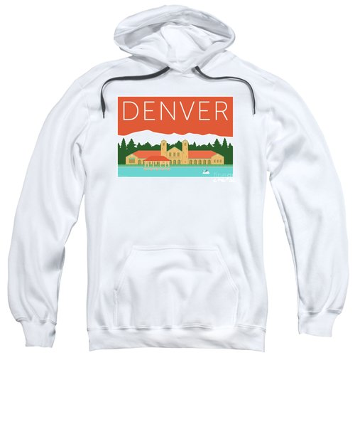 Denver City Park/coral Sweatshirt