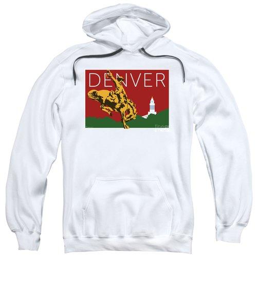Denver Cowboy/maroon Sweatshirt
