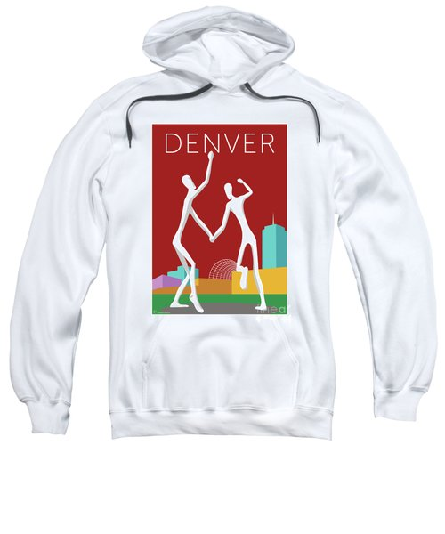 Denver Dancers/maroon Sweatshirt