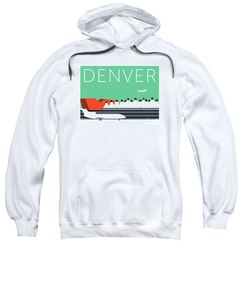 Denver Dia/aqua Sweatshirt