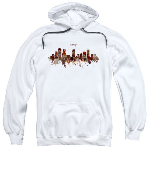 Denver Skyline Silhouette Sweatshirt