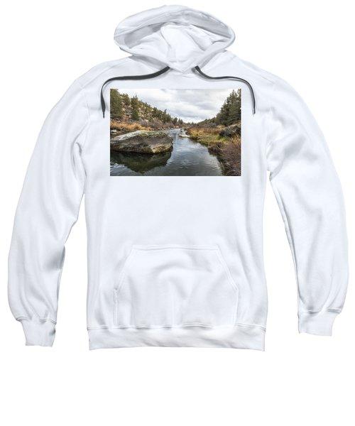 Deschutes River At Eagle Crest Sweatshirt