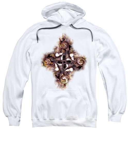 Desert Cross Sweatshirt by Anastasiya Malakhova