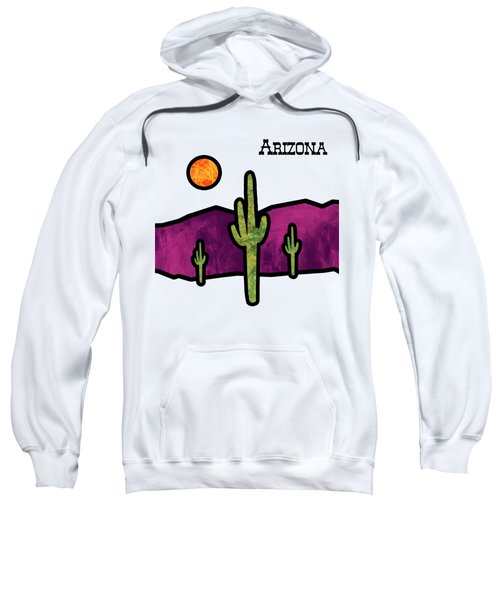 Desert Stained Glass Sweatshirt by Methune Hively