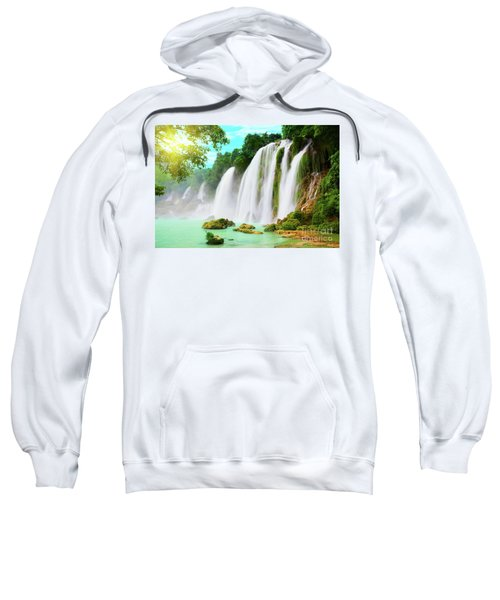 Detian Waterfall Sweatshirt
