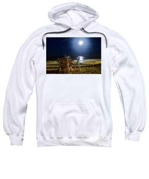 Dinner For Two In The Moonlight Sweatshirt
