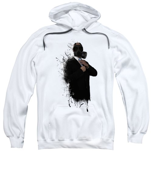 Dissolution Of Man Sweatshirt by Nicklas Gustafsson