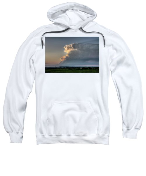 Distant Thunderstorm Sweatshirt