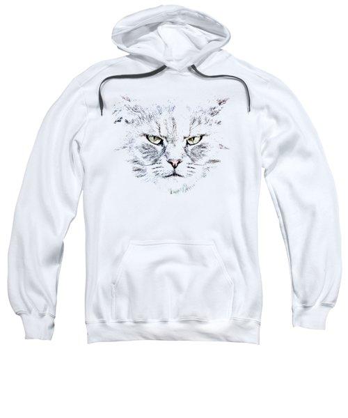 Disturbed Cat Sweatshirt