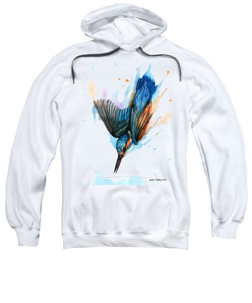 Diving Kingfisher Sweatshirt