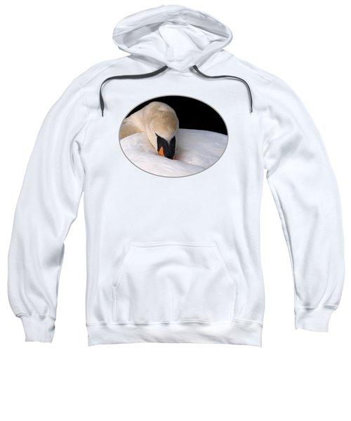 Do Not Disturb - Swan On Nest Sweatshirt