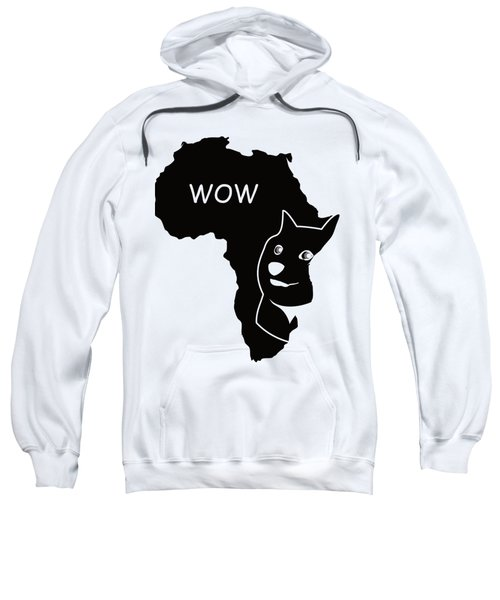 Dogecoin In Africa Sweatshirt by Michael Jordan