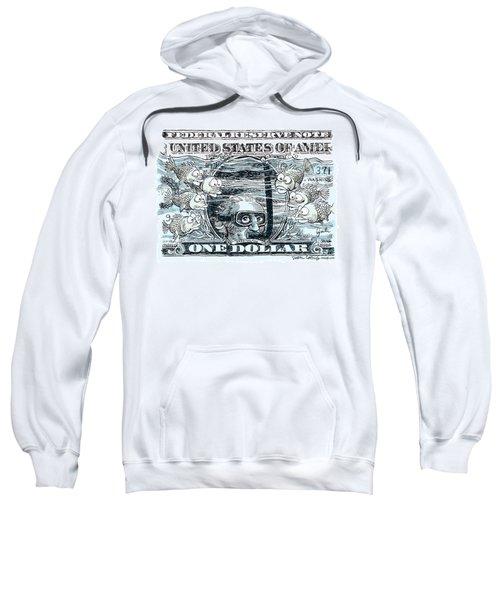 Dollar Submerged Sweatshirt